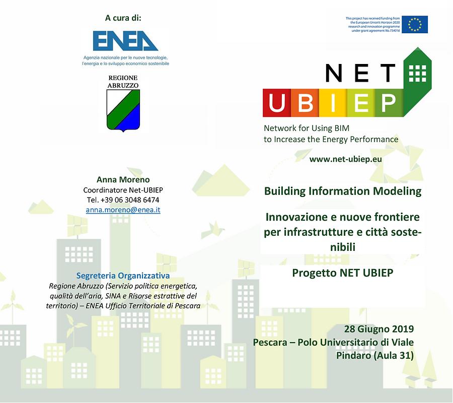 Programma Pescara NET-UBIEP 28 giugno 20