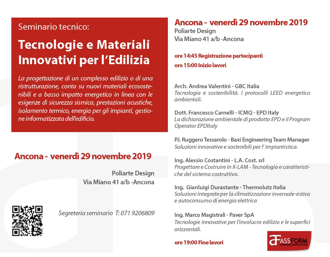 Seminario Ancona 2019