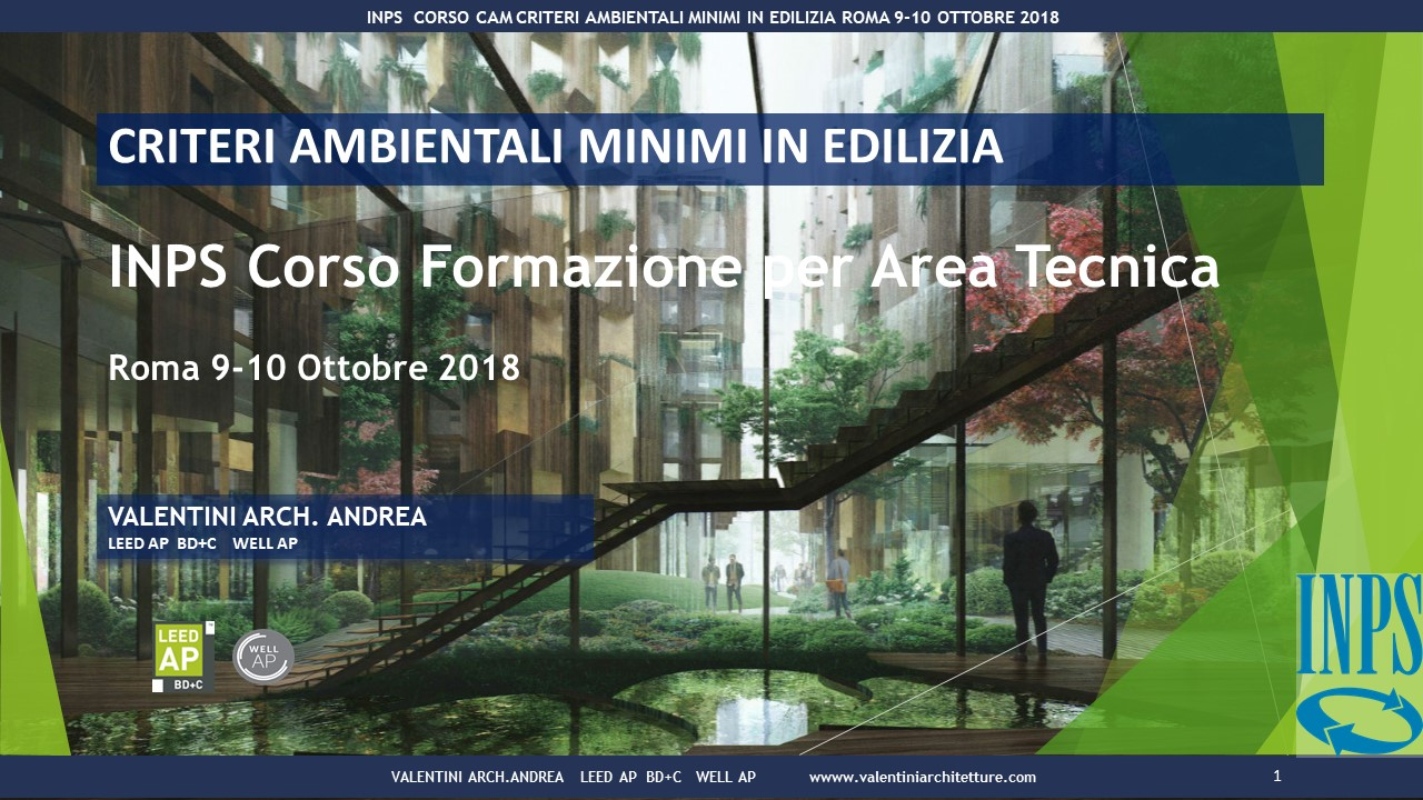 Corso formativo INPS Roma