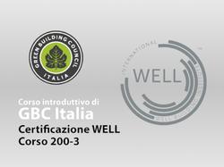 Corso 200-3 GBC Italia