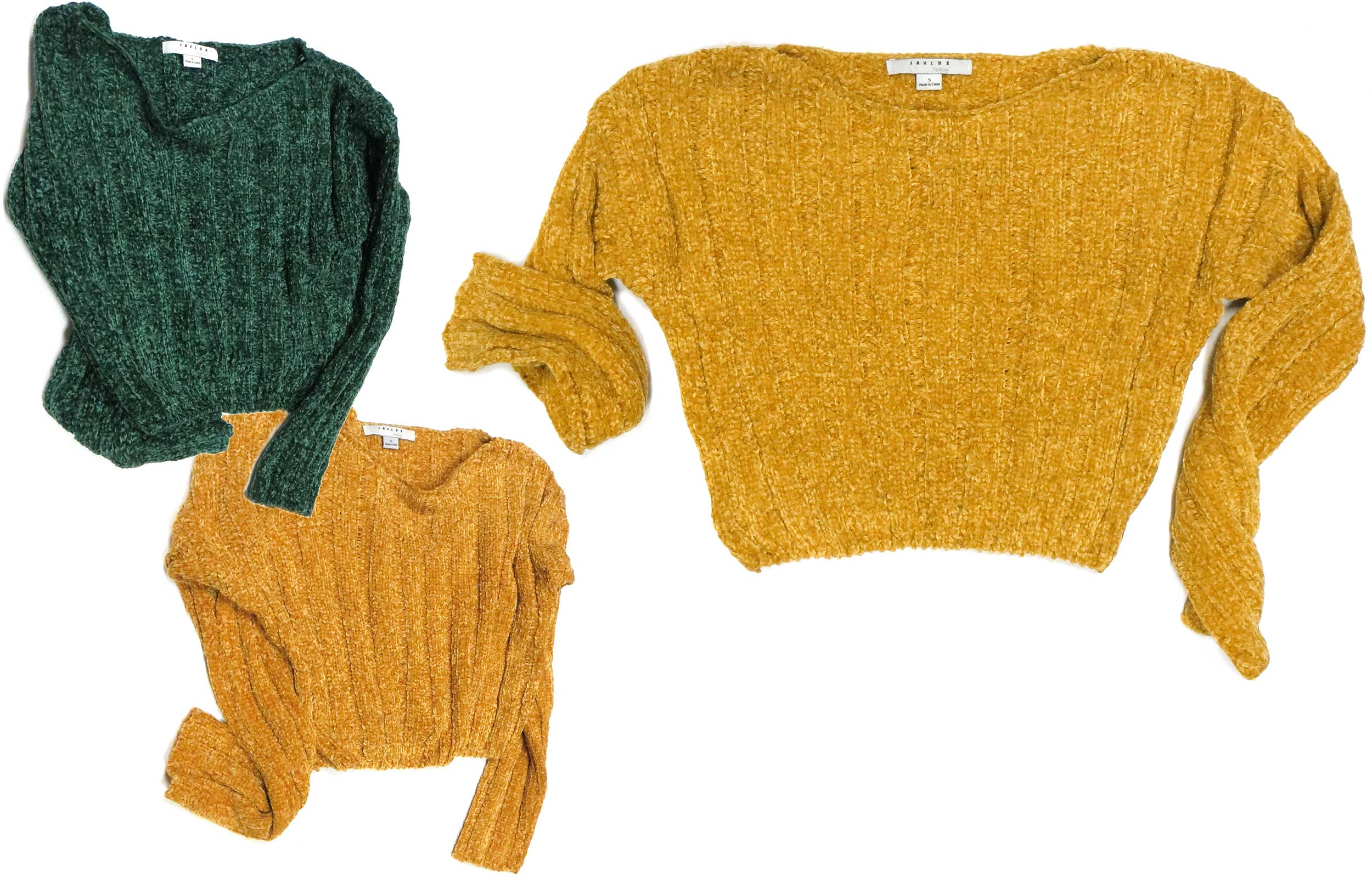 Cropped Chenille