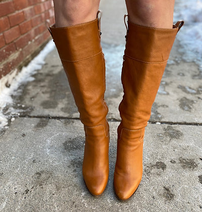Banana Republic Knee High Leather Boots ~ Size 8