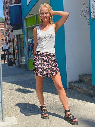 Reformation Retro Swirl Patterned Skirt ~ Size 4