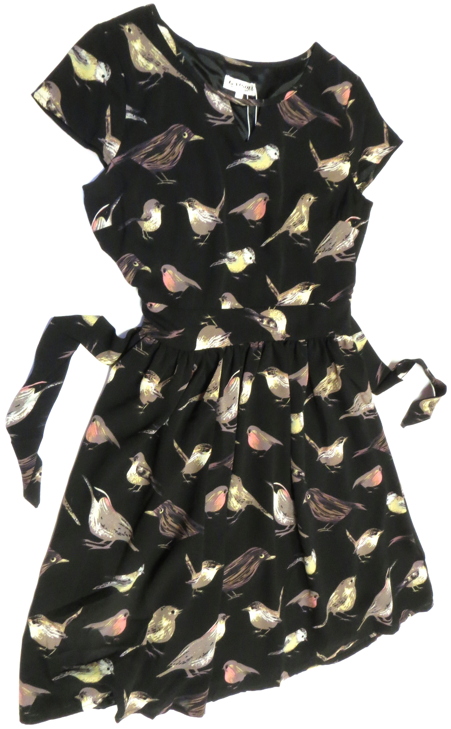Tie-Back Bird Dress