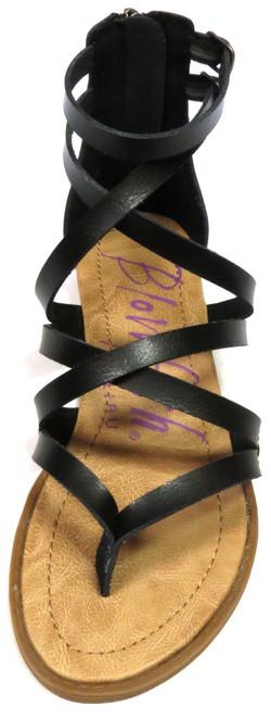 Strappy Black Sandals