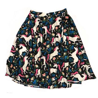 Funky Unicorn Circle Skirt