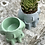 Thumbnail: Daydreaming Girl Concrete Planter