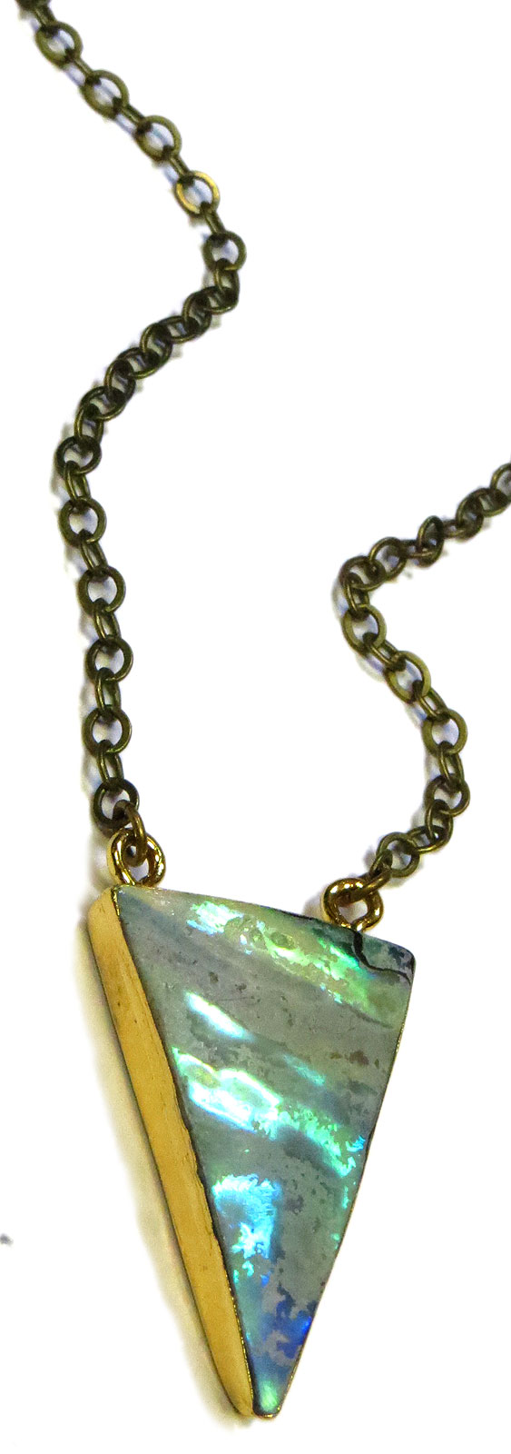 Abalone Pendant Necklace