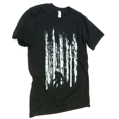NEW Men's Bigfoot in the Forest Tshirt