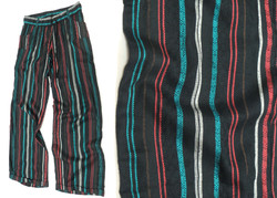 Pillow Stripe Wide Leg Pants