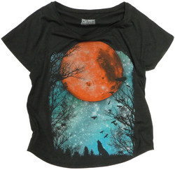 Cap Sleeve Moon Tee