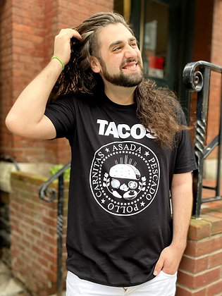 """Tacos!"" Cotton T-Shirt"