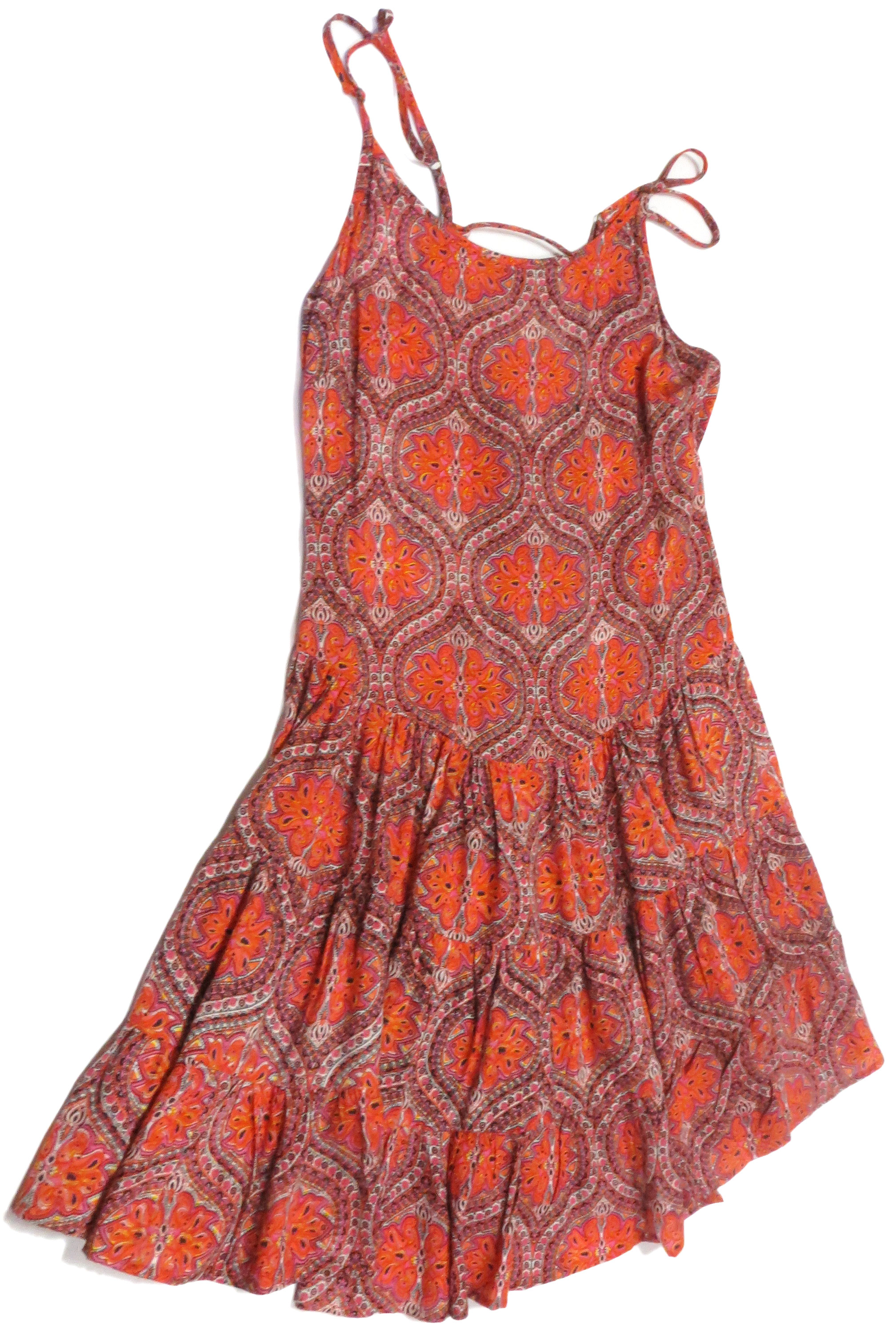 Indian Print Sun Dress