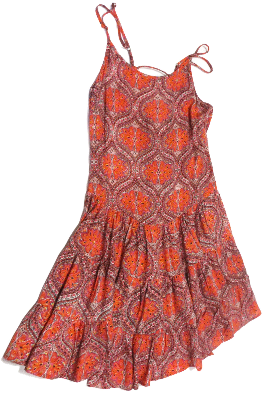 Indian Print Sun Dress