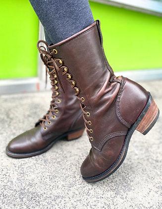 Vintage 70s' Georgia Logging Boots