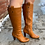 Thumbnail: Banana Republic Knee High Leather Boots ~ Size 8