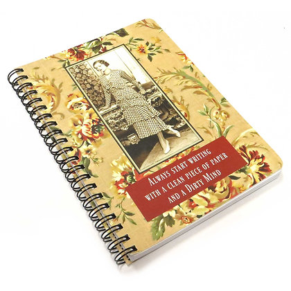 Funny Vintage Style Notebook