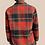 Thumbnail: Men's Vintage 60's Plaid Zip Up Jacket