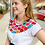 Thumbnail: Handmade Mexican Embroidered Blouse