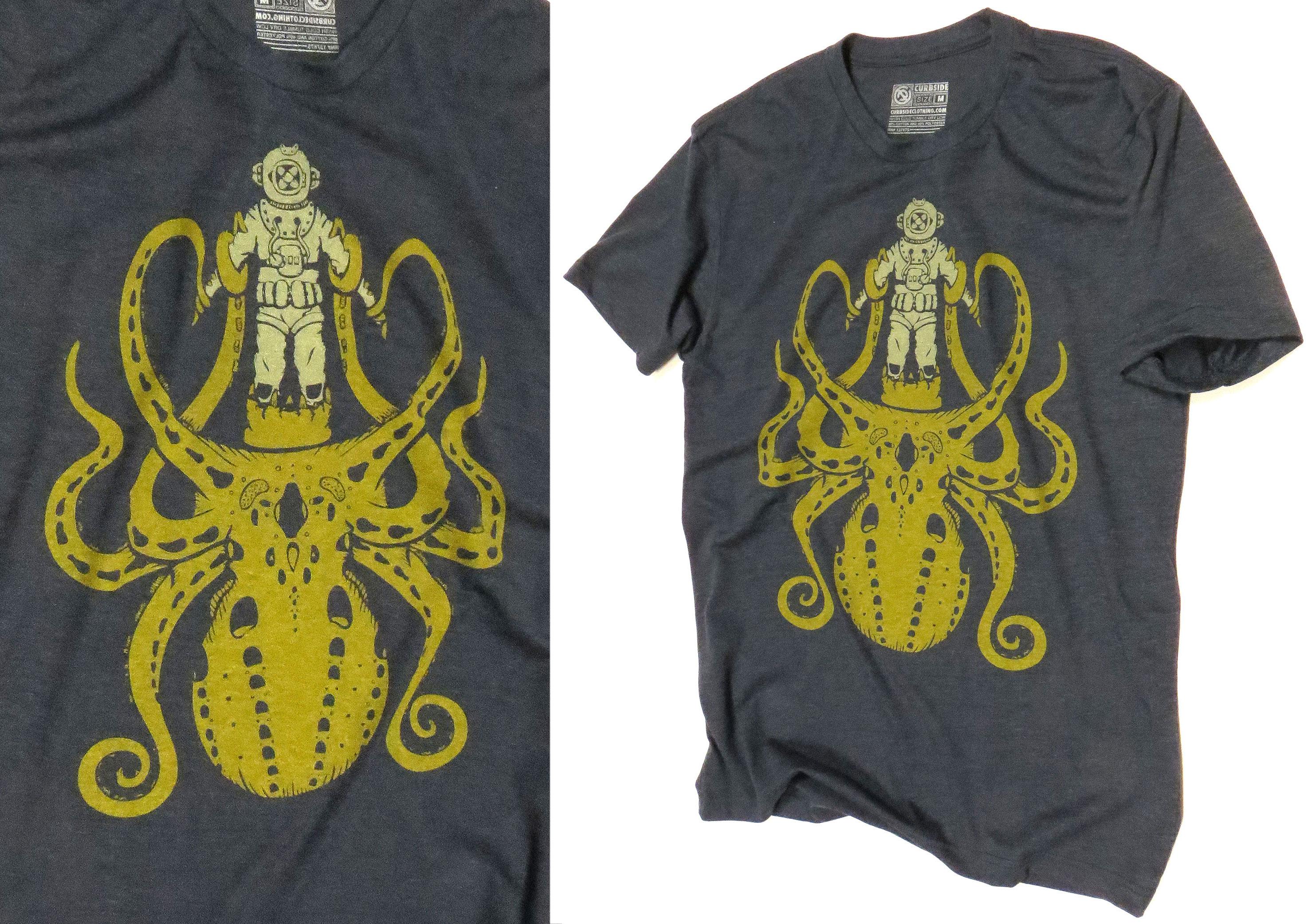 Kraken vs. Diver