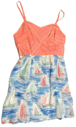 Sailboat Sun Dress