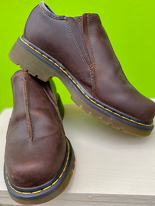 Doc Martens Leather Slip-on Shoes ~ Size 39