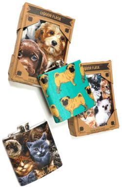 Cat & Dog Flasks