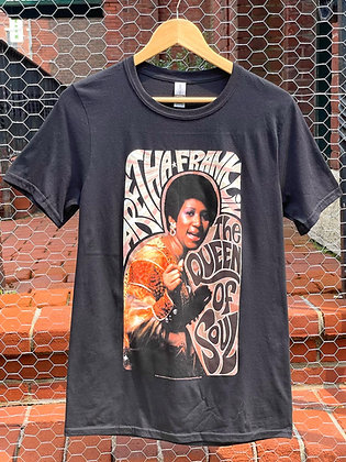 """""""The Queen of Soul"""" Aretha Franklin T-Shirt"""