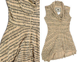 Sheet Music Tunic