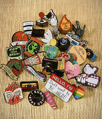 Funky Enamel Pin Collection