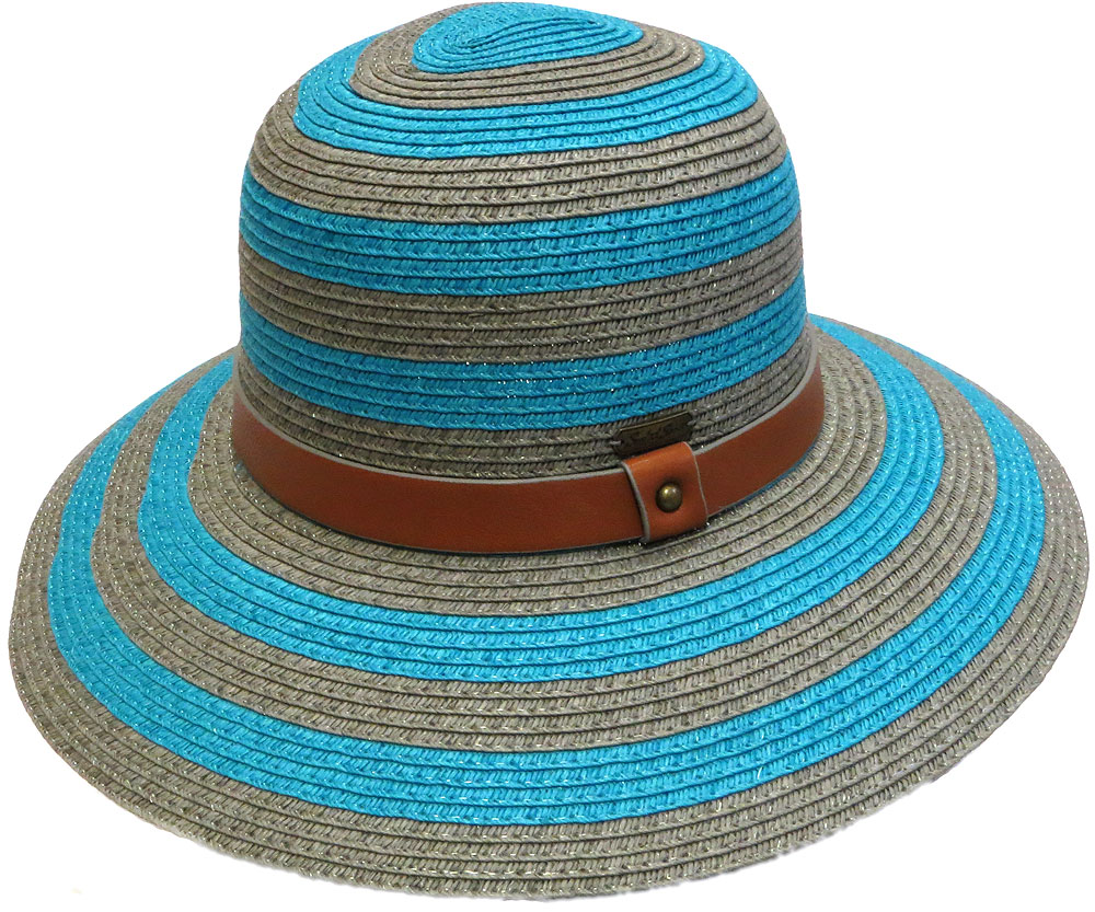 Concentric Stripe Sun Hat
