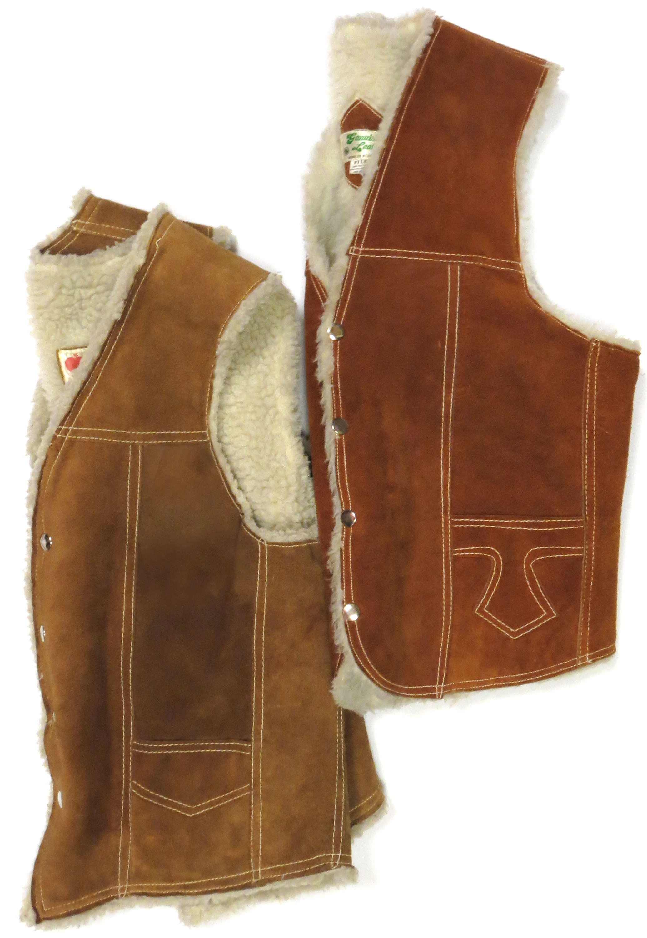 Vintage Shearling Vests
