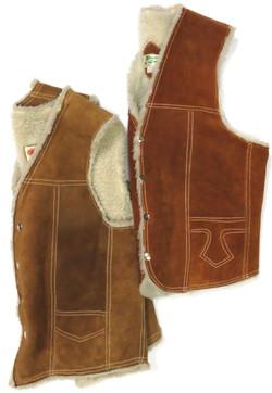 Vintage Shearling Vests