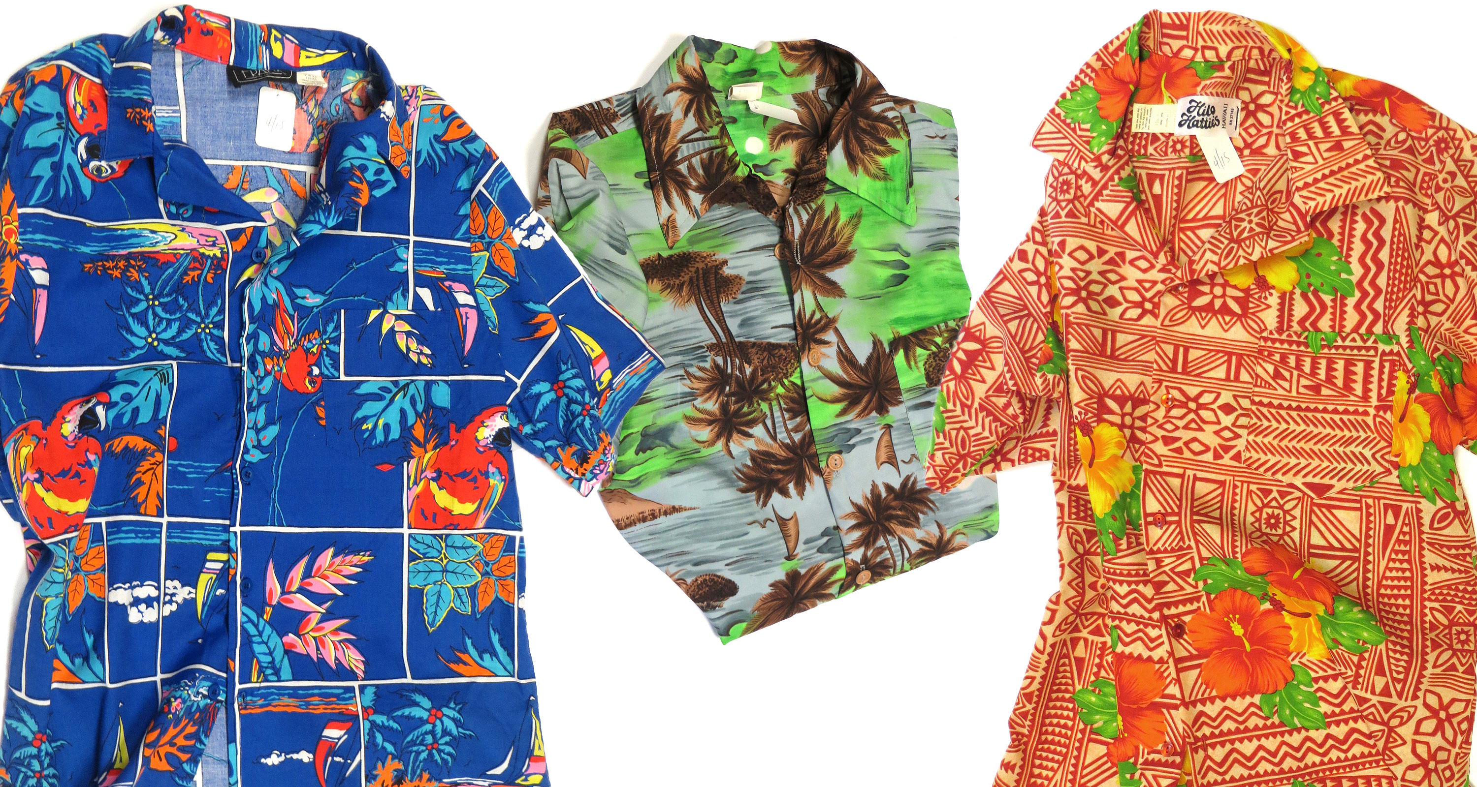 Men's Vintage Hawaiian Shirts