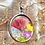 Thumbnail: Wildflower Stained Glass Necklace