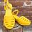 """Thumbnail: Lulu Hun """"Wedge o' Sunshine"""" Sandals"""