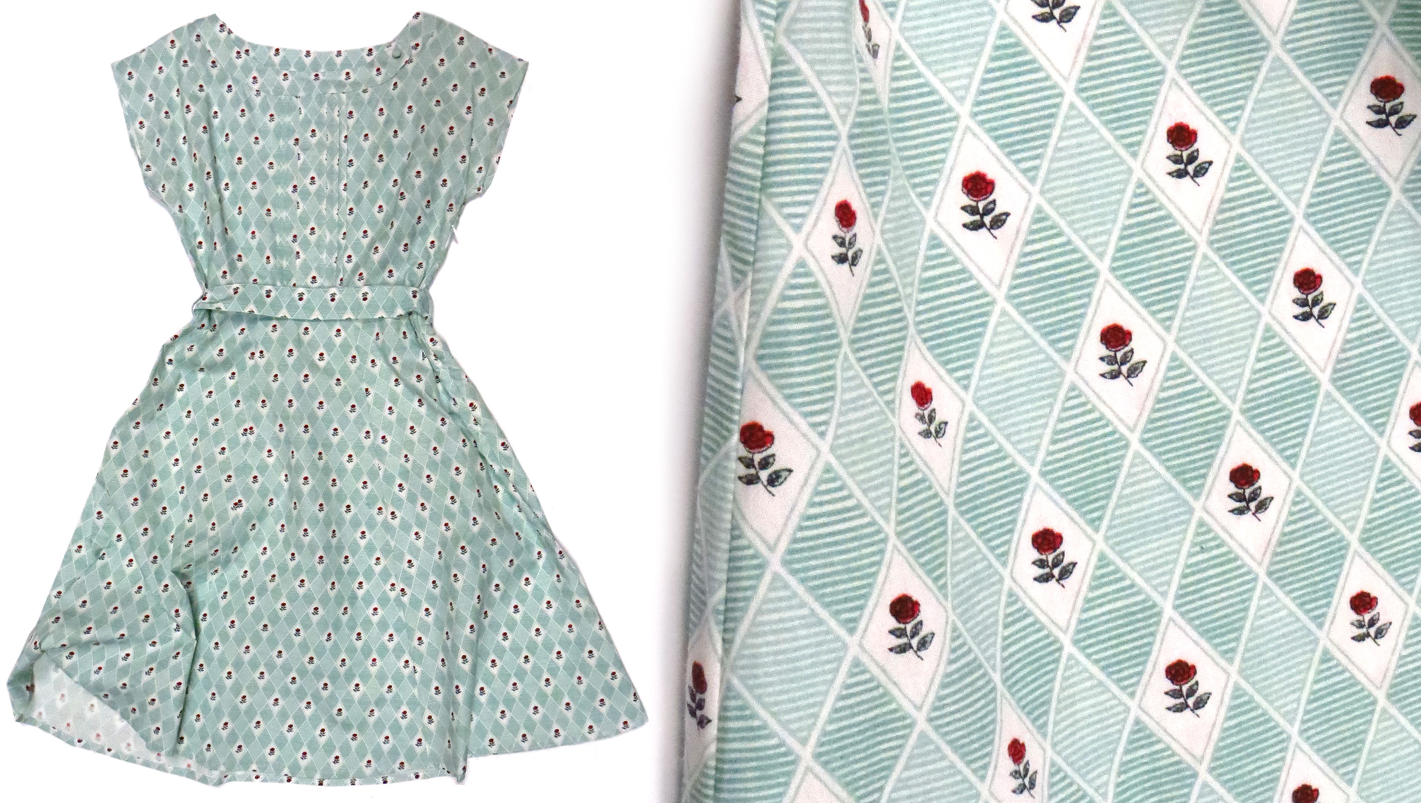 Rosebud Dress