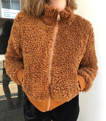 NEW Fuzzy Cropped Jacket