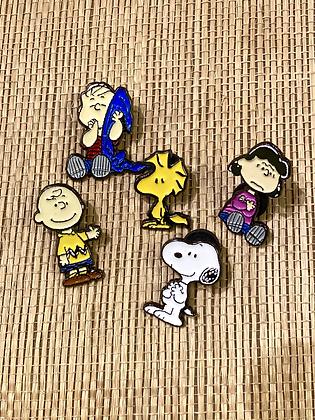 Peanuts Enamel Pin Collection