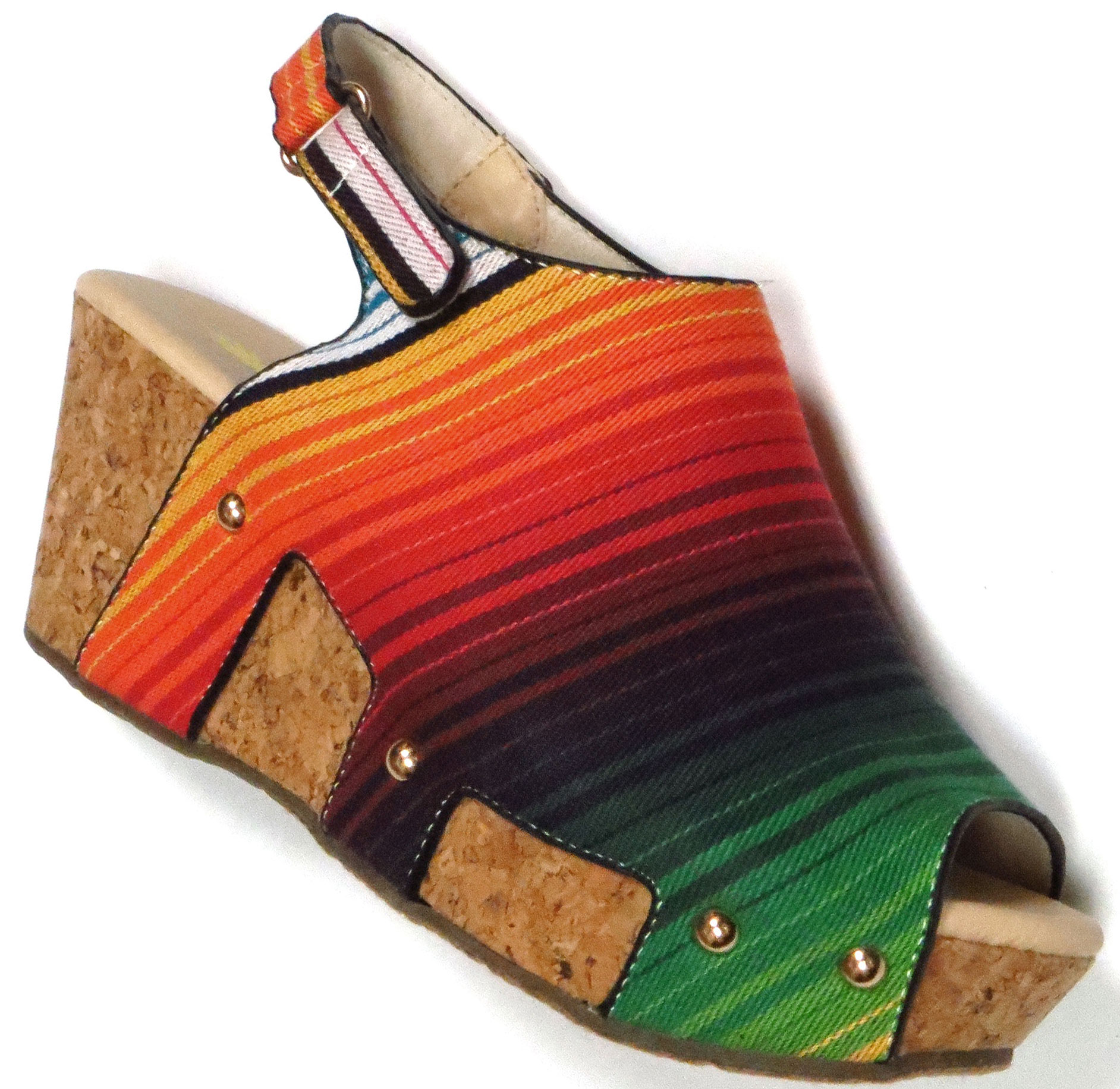 Serape Sandal
