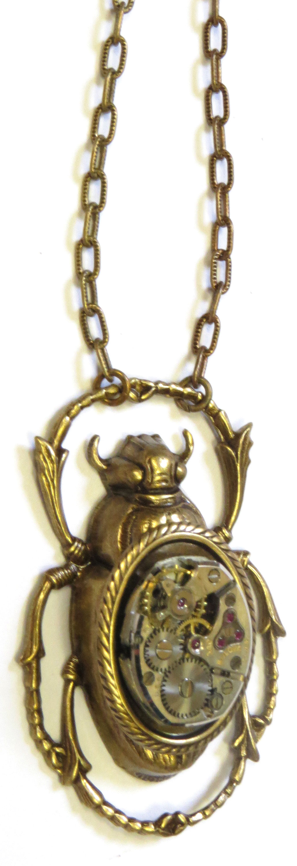 Scarab Watchpiece
