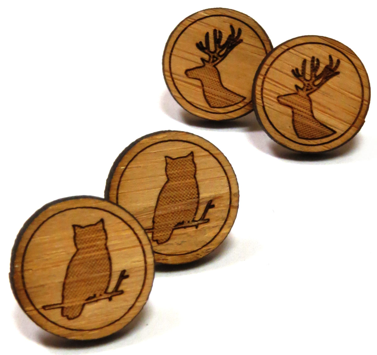 Woodland Stud Earrings