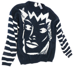 80s Graphic Sweater
