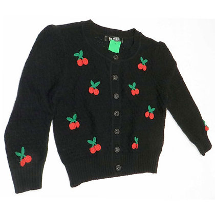 Cherry Knit Cardigan