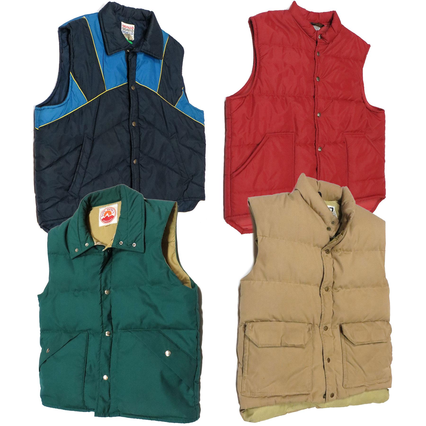 Vintage Puffer Vests