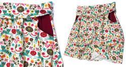 Foldover Skirt