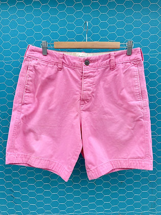 Vintage '90s Abercrombie & Fitch Hot Pink Shorts ~Size 32