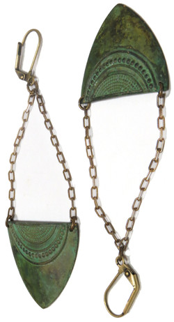 Indonesian Pendant Earrings