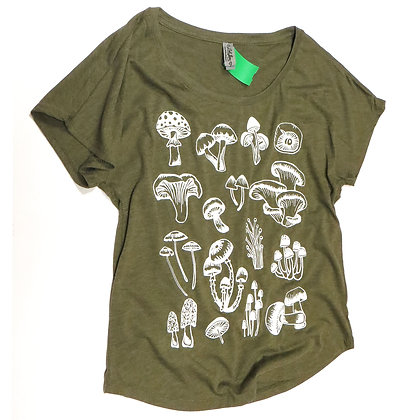 NEW Mushroom T-Shirt in Sage