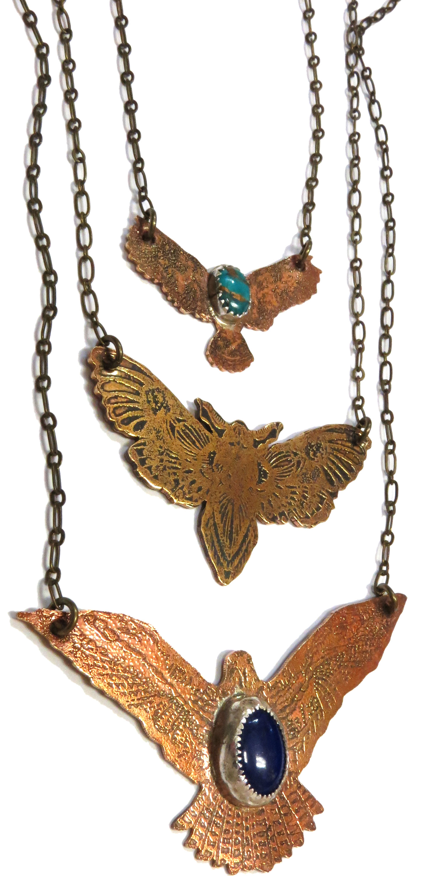 Winged Necklaces